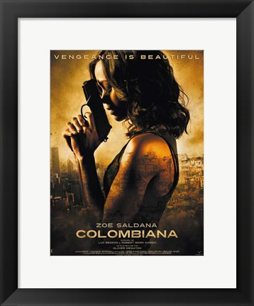 Framed Colombiana Print
