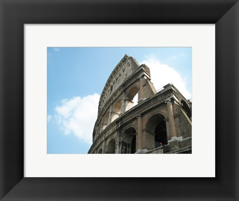 Framed Broken Wall of the Colosseum Print