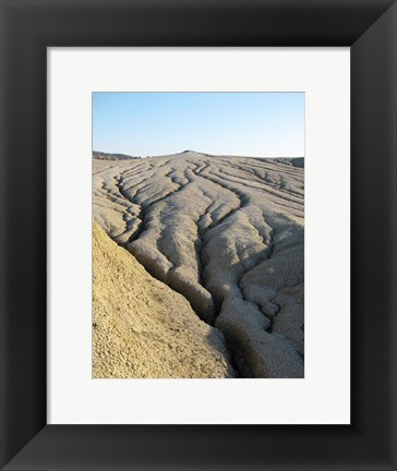 Framed Cracked Earth Surface Print