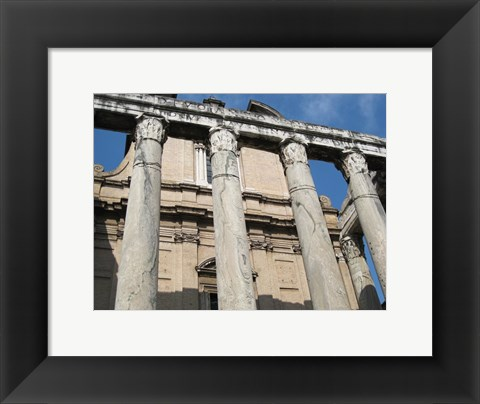 Framed Rome Temple of Antoninus Pius and Faustina Print