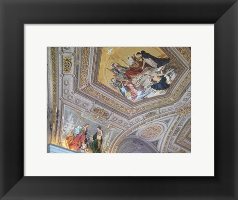 Framed Vatican Painted Ceiling Print