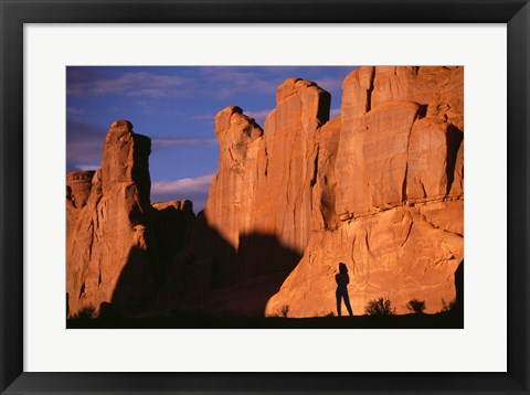 Framed Arches National Park Utah USA Print
