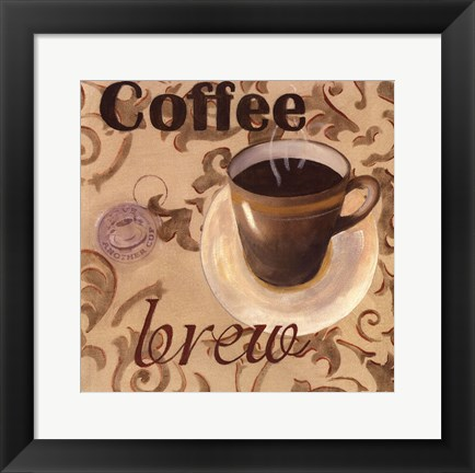 Framed Coffee Brew Print