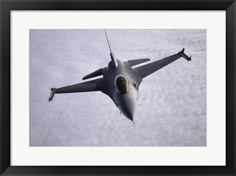 Framed F-16 Fighter Print