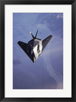 Framed F-117 Stealth Fighter U.S. Air Force Print