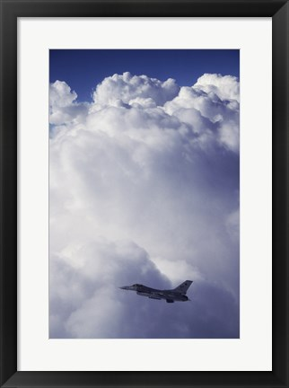 Framed U.S. Air Force F-16 Print