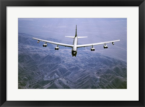 Framed U.S. Air Force B-52 Bomber Print