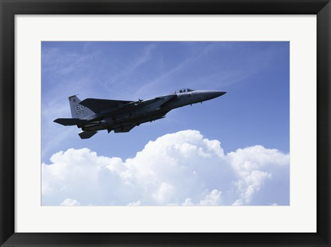 Framed U.S. Air Force F-15 Print