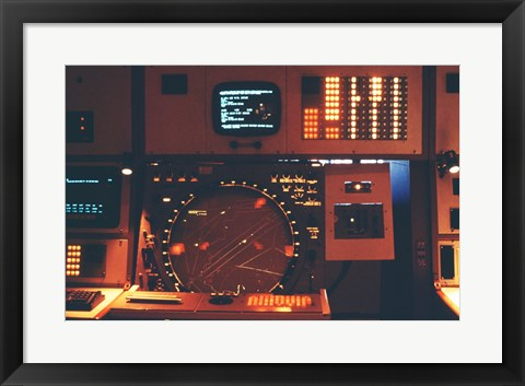 Framed Radar Console U.S. Armed Forces Print