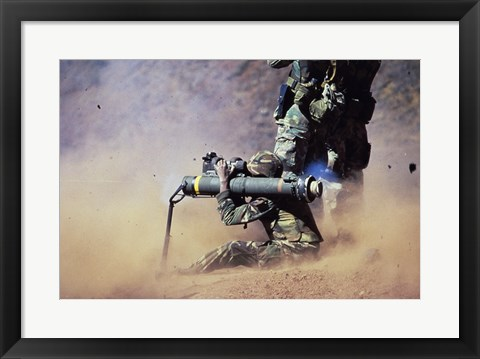 Framed AM-47 Anti-Tank Weapon Print