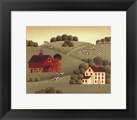 Framed Farm Print