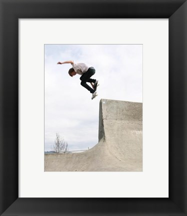 Framed Back Smith Grind Print