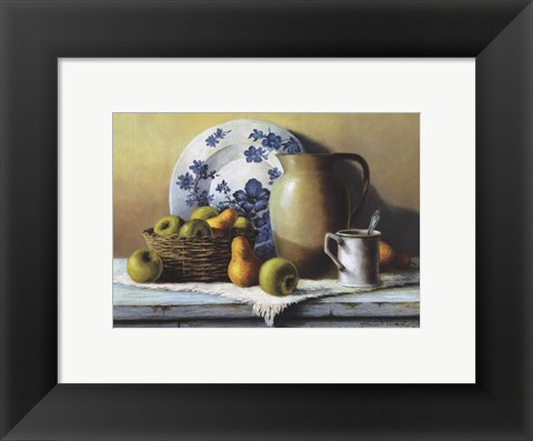 Framed Country Kitchen II Print