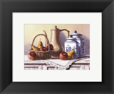 Framed Country Kitchen IV Print