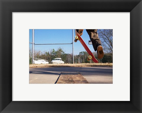 Framed High Ollie Print