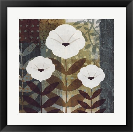 Framed Floral Dreams I Print