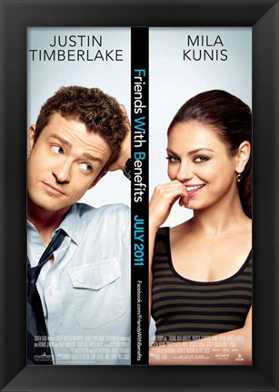 Framed Friends with Benefits Print