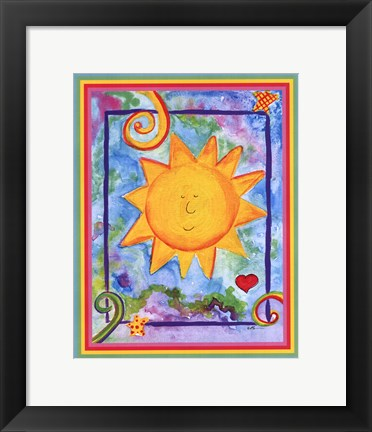 Framed You Brighten My Day Print