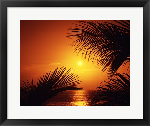 Framed Kihei Maui Hawaii USA Print