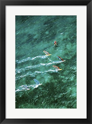 Framed Kanaha Beach Maui Hawaii USA Print