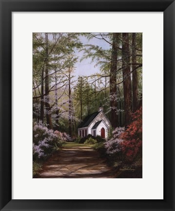 Framed Spring Hope Print