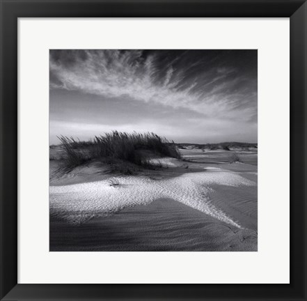 Framed Sand & Snow Print