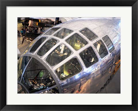 Framed Enola Gay Cockpit Print