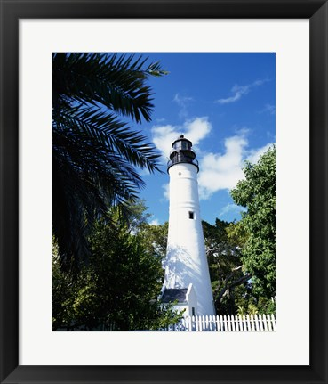 Framed Key West Lighthouse and Museum Key West Florida, USA Print