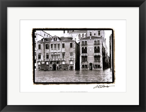 Framed Waterways of Venice XVI Print
