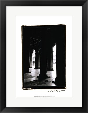 Framed Archways of Venice III Print