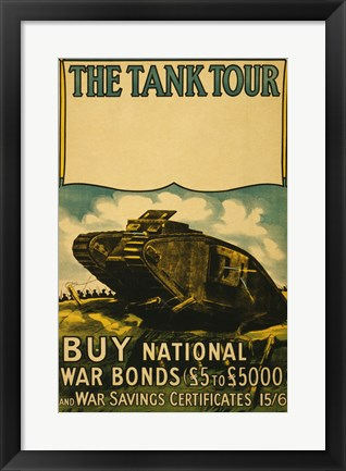 Framed Tank Tour Print