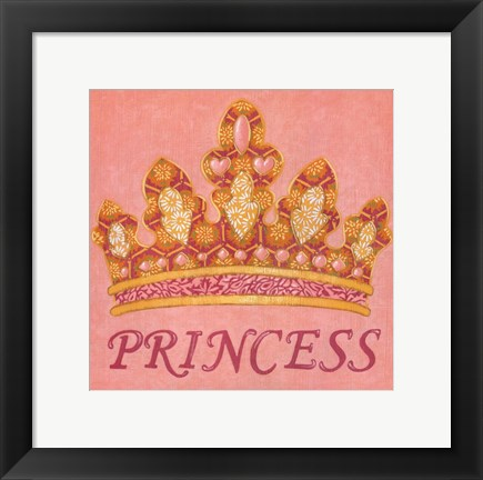 Framed Princess Print
