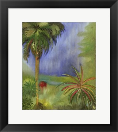 Framed Small Low Country I Print