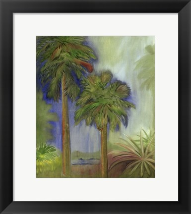 Framed Small Low Country II Print
