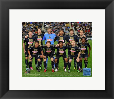 Framed Philadelphia Union 2011 Team Photo Print