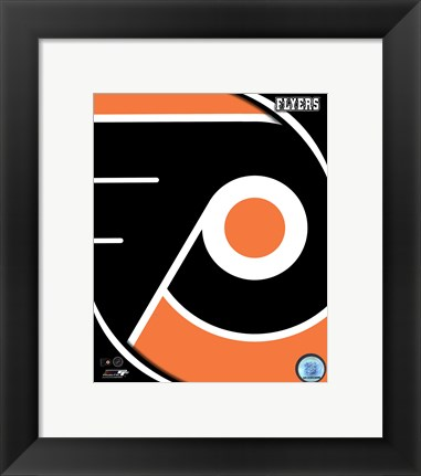 Framed Philadelphia Flyers 2011 Team Logo Print