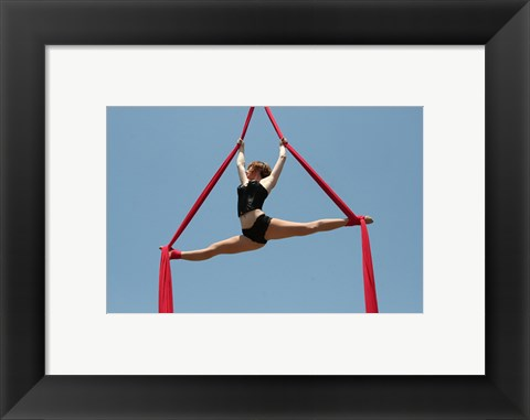 Framed Aerial Showgirls I Print