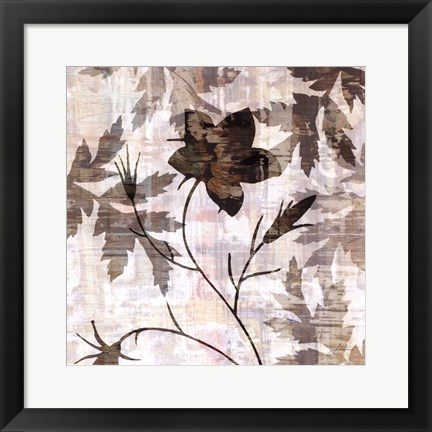 Framed Wallflower V Print