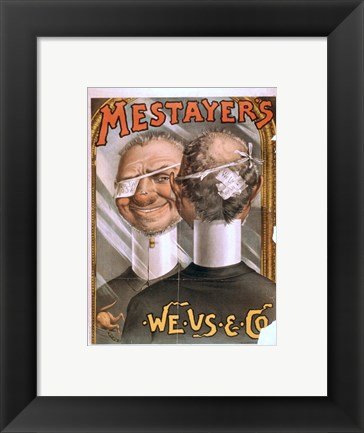 Framed Mestayer's Print