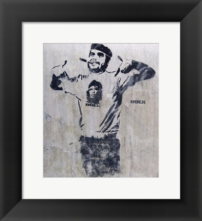 Framed Che and Fidel, Norway Print