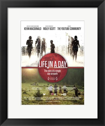 Framed Life in a Day Print