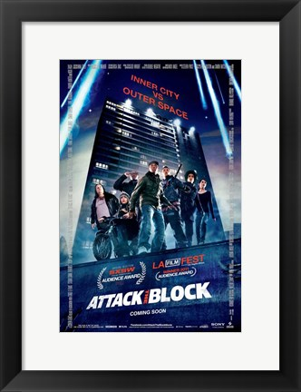 Framed Attack the Block Print