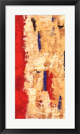 Framed Red Confusion II Print