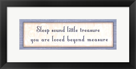 Framed Sleep Sound Print