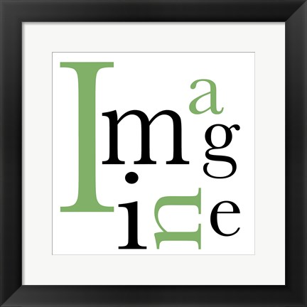 Framed Imagine 4 Print
