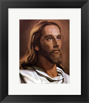 Framed Christ Print