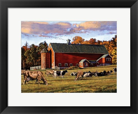 Framed Autumn Splendor Print