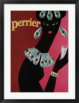 Framed Perrier Print