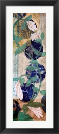 Framed Quilted Perfoliata I Print