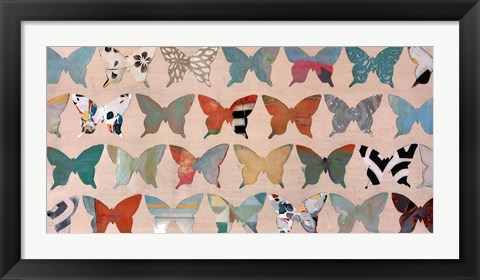 Framed Butterfly Collection Print